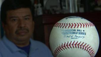 Suspendido del trabajo por llevarse la pelota de béisbol