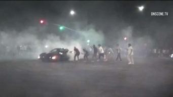 Reuniones clandestinas de autos en el sur de Los Ángeles