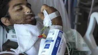 Motociclista profesional se recupera tras accidente
