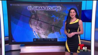 Mire cómo vieron la trayectoria del eclipse en EE.UU. y otros países