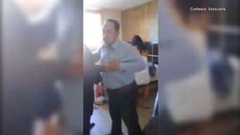 Alcalde es sorprendido por su familia con sexoservidora