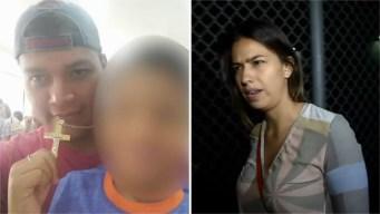 Habla padre de niño cuya madre es acusada de quemarlo