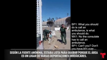 Captan agentes fronterizos intentando repatriación ilegal