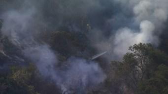 Dos arrestos en relación con incendio en Eagle Rock