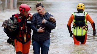 """""""Inundación del siglo"""" deja varios muertos en Francia"""