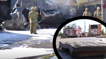 2 heridos en explosión de una tubería de gas