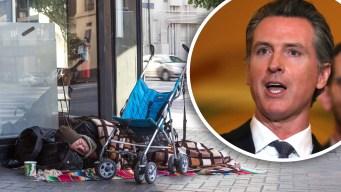 Presupuesto de Newsom aborda indigencia en California
