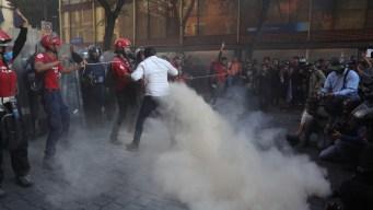 ¿Quiénes siembran el caos en las marchas?