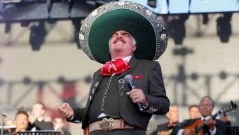 Vicente Fernández vuelve a los escenarios... por unas horas