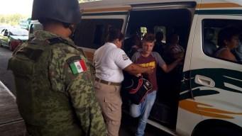 México: hallan 75 migrantes escondidos en una casa