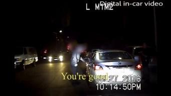 LAPD revela dramático video de tiroteo policial