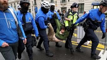 Protestas estallan tras toma de posesión de Trump