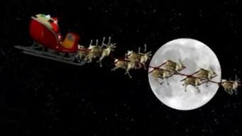 Sigue paso a paso el recorrido de Santa Claus