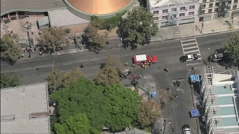 Cuatro heridos en tiroteo en el centro de Los Ángeles
