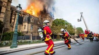 Corto circuito, posible causa del fuego en Notre Dame