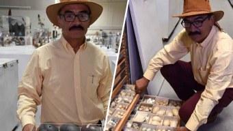 De migrante a gerente de museo con colección de huevos