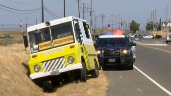 Giro inesperado en robo y persecución de carro de helado