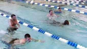 Clases de natación para seguridad en albercas
