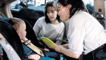 Inspección gratis de sillas para niños