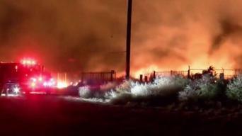 Persecución causa Incendio 46 en Jurupa Valley