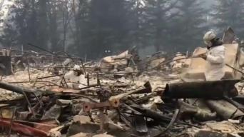 Suben a 83 los muertos por fuego en norte de California
