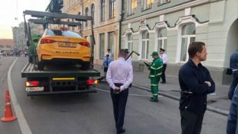 Dos mexicanos entre los impactados por taxi en Moscú