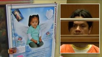 Declaran culpable a hombre de apuñalar a muerte a niña