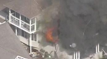 Incendio daña casa histórica en el sur de Los Ángeles