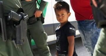 El llanto de niños, el símbolo de la crisis fronteriza
