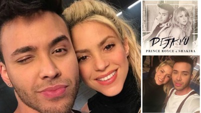 "Shakira y Prince Royce al ritmo de bachata en ""Deja Vu"""