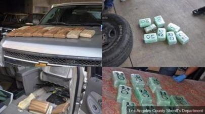 Incautan 15 kilos de narcóticos en Boyle Heights
