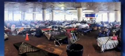 Denuncian condiciones deplorables en albergues