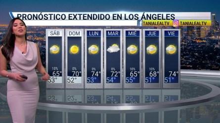 La lluvia culmina para el inicio del fin de semana en el sur de California