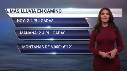 Michelle Trujillo con el reporte del tiempo