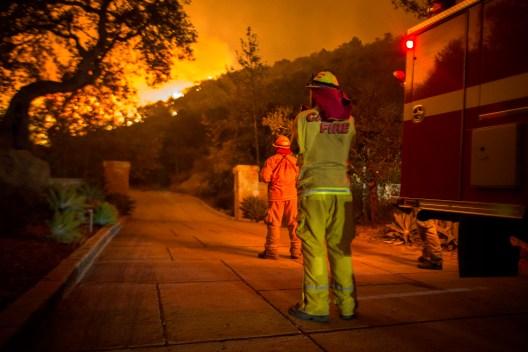 Incendios forestales más grandes de California