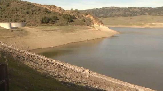 Lluvias en febrero casi han eliminado la sequía