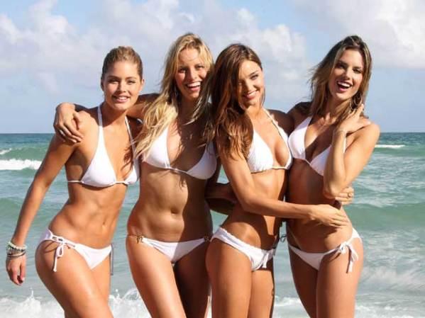 Las modelos de Victoria's Secret se pusieron los bikinis para ...
