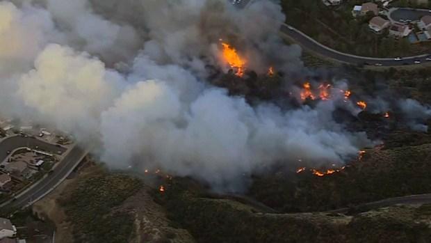 Imágenes de fuegos del 2017 en California