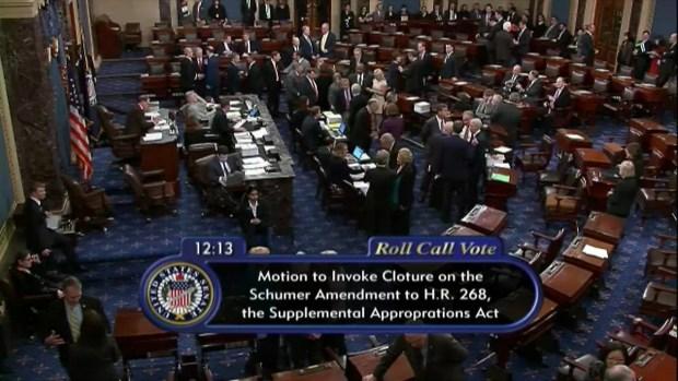 [TLMD - MIA] Intento de reabrir el gobierno fracasa en senado