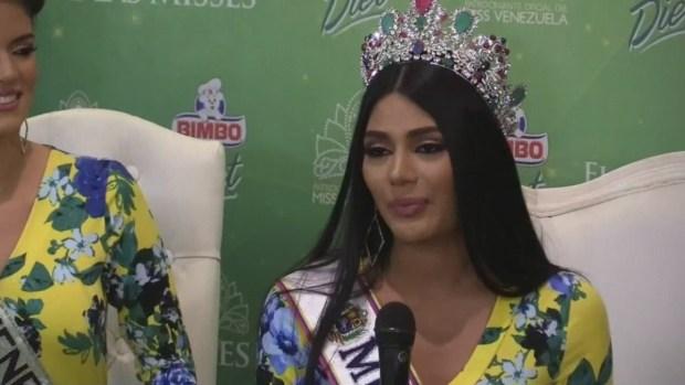 La nueva Miss Venezuela aspira a una carrera política