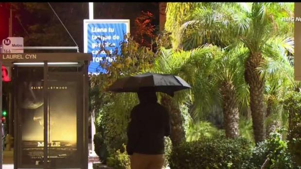 Aconsejan precaución para conducir bajo la lluvia