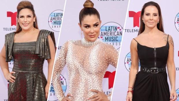 """Expertos eligen a las peor y mejor vestidas de los """"Latin AMAs"""""""