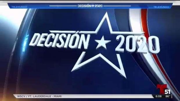 [TLMD - NATL] Anuncian los precandidatos que participarán en debate demócrata