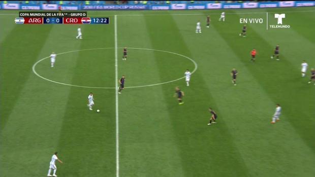 [TLMD - MIA] Argentina primera oportunidad de gol