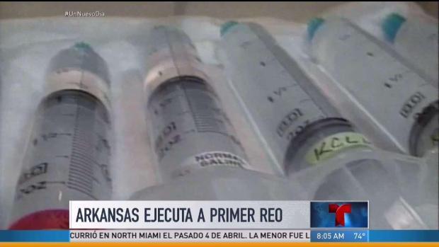 Arkansas ejecuta a primer reo en 12 años