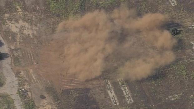 [TLMD - LA] Detonan artillería en avión accidentado
