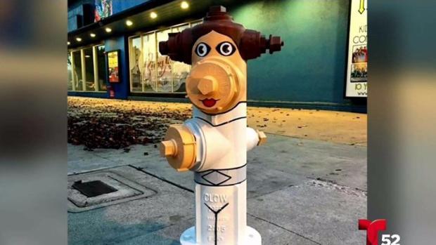 [TLMD - LA] Artista transforma hidrantes en obras de arte