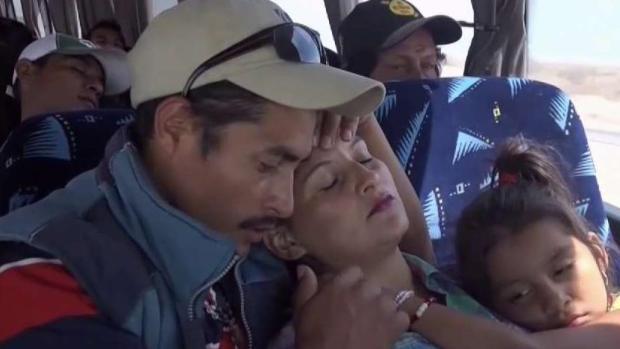 [TLMD - MIA] Autoridades de EEUU monitorean caravana migrante