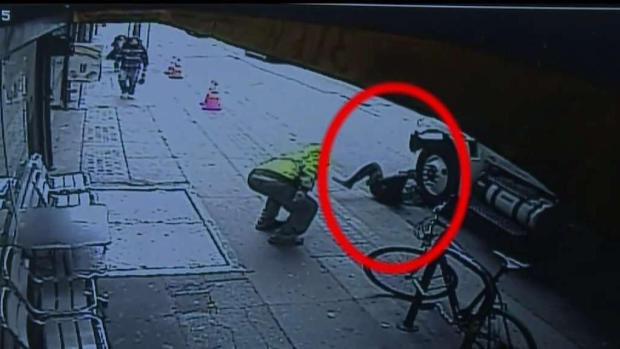 Brutal ataque y atropello de un hombre en Los Ángeles