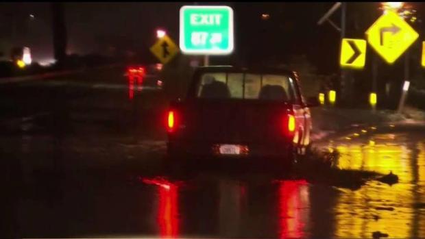 [TLMD - LA] Cierre de Autopista 101 por inundación